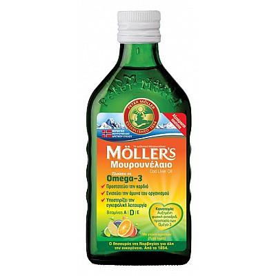 MOLLER'S CODE LIVER OIL 250ML TUTTI FRUTTI