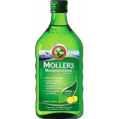 MOLLER'S COD LIVER OIL 250ML LEMON