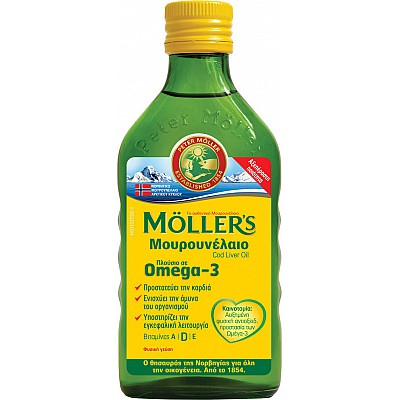 Moller's Cod liver oil 250ml - Natural Taste