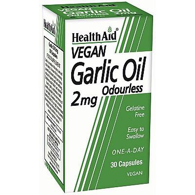 Health Aid GARLIC OIL Odourless 2mg, 30caps