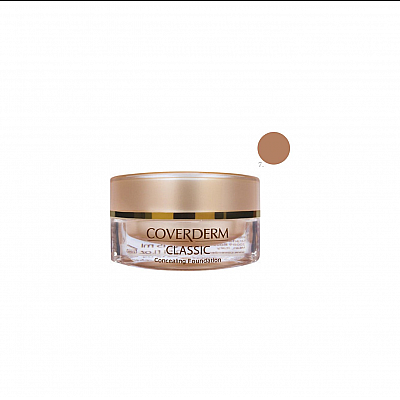 Coverderm Classic Concealing Foundation SPF30 no.7, 15 ml