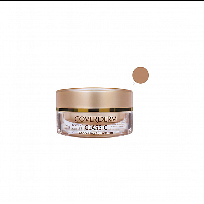 Coverderm Classic Concealing Foundation SPF30 no.9 , 15ml
