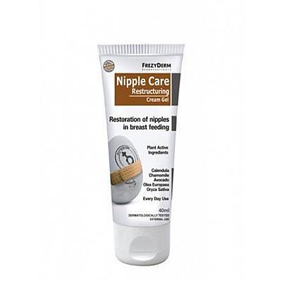 Frezyderm Nipple Care Restructuring Cream-Gel, Αποκατάστηση των Θηλών από τον Θηλασμό 40ml