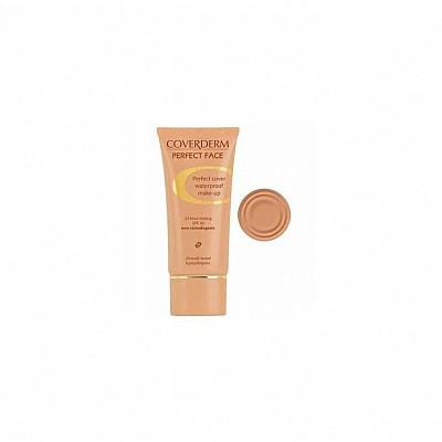 Coverderm Perfect Face Αδιάβροχο-υποαλλεργικό Make-up 5A SPF20 30ml