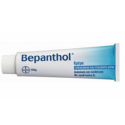 Bepanthol Cream for Irritated and Sensitive Skin 100gr