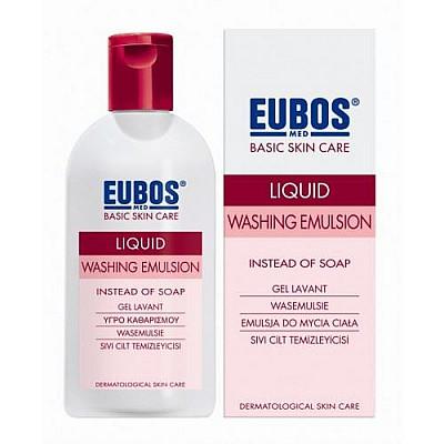 EUBOS - LIQUID RED Υγρό καθαρισμού προσώπου και σώματος 200ml