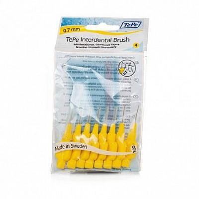 Tepe Μεσοδόντια Βουρτσάκια Κίτρινο 0.7 8 τεμάχια