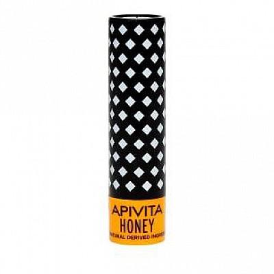 Apivita Bio-Eco Lip Care Honey (4,4gr) - Στικ χειλιών με μέλι