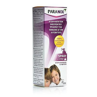 Paranix Spray 15m One-off Lice and Nits Eradication Treatment, 100ml