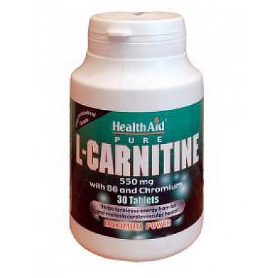 L-Carnitine with Vit. B6 & Chromium 30Tablets