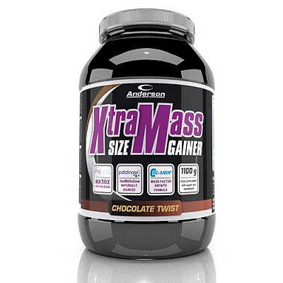 Anderson Xtra Mass Size Gainer 20365 Chocolate Twist 1100gr