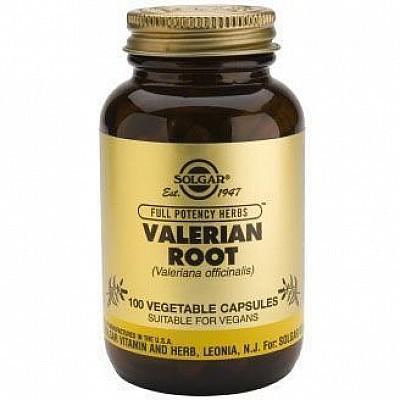 Solgar Valerian Root Βαλεριάνα,100caps