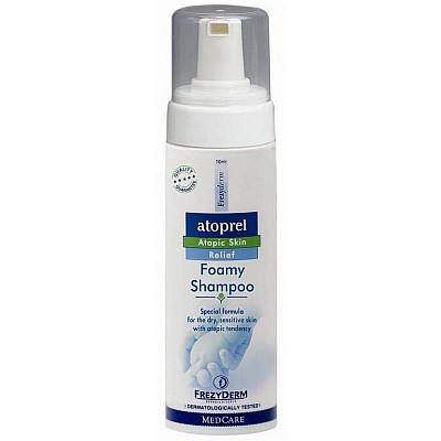 Frezyderm Atoprel Foamy Shampoo (Σαμπουάν σε μορφή αφρού) 150ml
