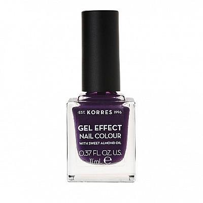 Korres Gel Effect Nail Colour No.75 Violet Garden 11ml