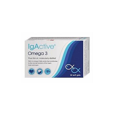 IgActive Omega 3 1000mg 30 μαλακές κάψουλες