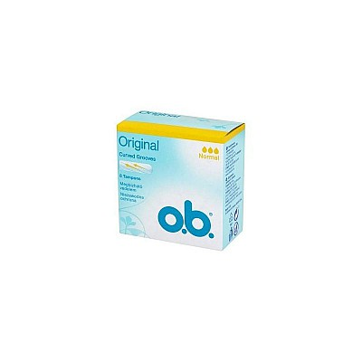 O.B. Original Curved Grooves Normal 8pcs