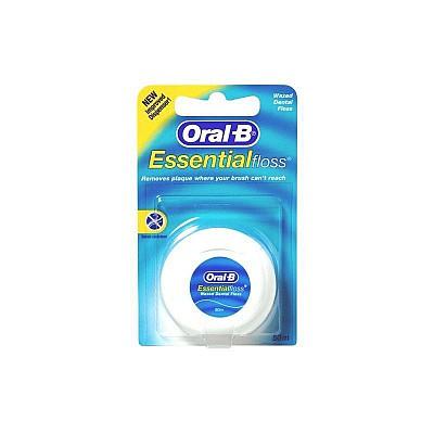 ORAL-B DENTAL FLOSS Οδοντικό Νήμα με Κερί, 50m