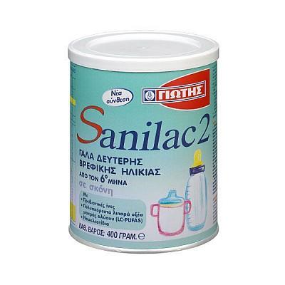 Yiotis Sanilac 2 Infant Milk 400g