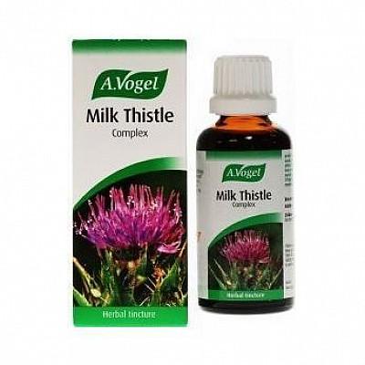A. Vogel Milk Thistle 50ml - Γαϊδουράγκαθο για Αποτοξίνωση Συκωτιού