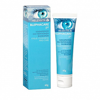 Helenvita Blephacare Gel, Eyelid Cleansing Gel 60gr