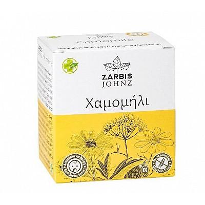 JOHNZ Chamomile - Anti-stress and nervous tension suppressor, 1.2gr x 10 sachets