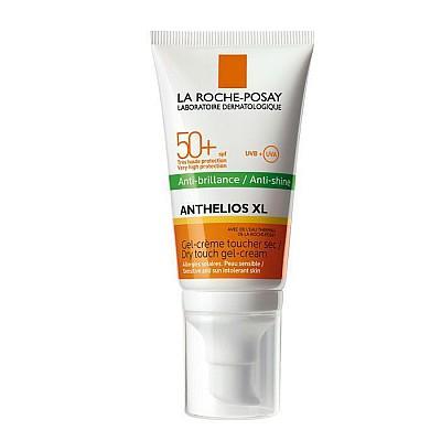 La Roche Posay Anthelios XL Anti-Shine Tinted SPF50+ Αντηλιακή Gel Κρέμα Προσώπου με Χρώμα για Ματ Αποτέλεσμα, 50ml