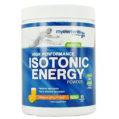 MyElements Sports High Performance Isotonic Drink Iσοτονική Φόρμουλα Ενυδάτωσης με Γεύση Πορτοκάλι, 600gr