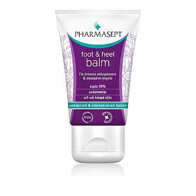 Pharmasept Tol Velvet Foot & Heel Balm Rich cream with 30% urea for dry and chapped skin, 50ml