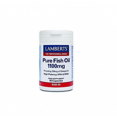 LAMBERTS PURE FISH OIL 1100MG (EPA), Omega 3, 60 caps