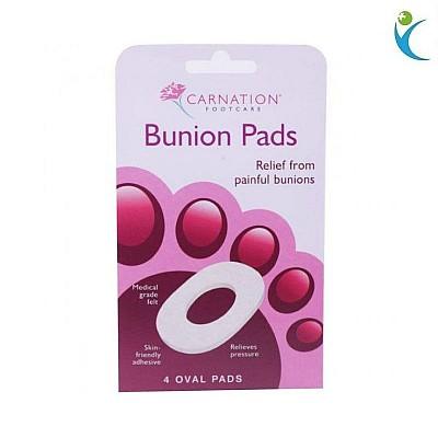Vican Carnation Bunion Pads, Αυτοκόλλητα προστατευτικά δακτύλων για τα δάκτυλα των ποδιών, 4pads