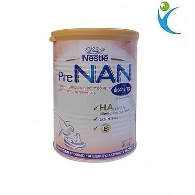 Nestle PreNan Βρεφικό γάλα για λιποβαρή και πρόωρα βρέφη 400gr