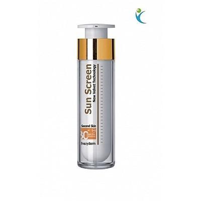 Frezyderm Sun Screen Velvet Face Cream SPF30 Αντηλιακή Κρέμα Προσώπου με Άριστη Εφαρμογή με ένα Άγγιγμα, 50ml