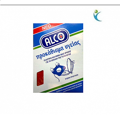 Alco Disposable plastic cover for the toilet bowl, 10 Pieces