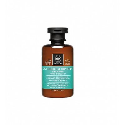 Apivita Oil Roots & Dry Ends Shampoo 250ml