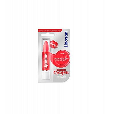 Liposan Crayon Lipstick Poppy Red 3gr
