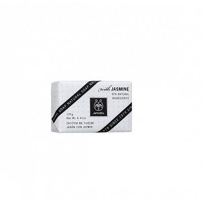 Apivita Natural Soap Σαπούνι με Γιασεμί για χαλάρωση 125gr