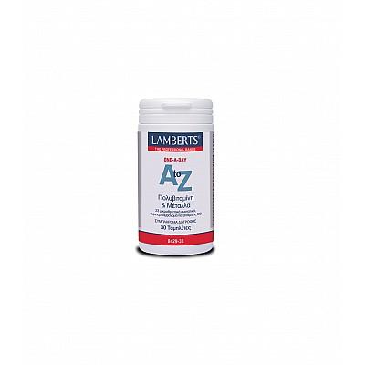 Lamberts A-Z Multi Vitamins 30 tabs