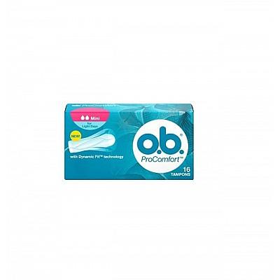 O.B. ProComfort SilkTouch Mini 16 pcs