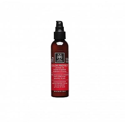 Apivita Color Protect Leave In Conditioner, Κρέμα Προστασίας Χρώματος Χωρίς Ξέβγαλμα με Ηλίανθο και Μέλι 150ml