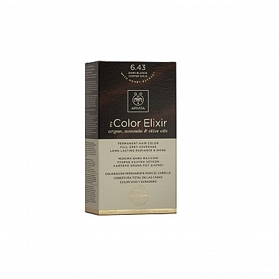 Apivita My Color Elixir 6.43 Dark Blonde Copper Gold