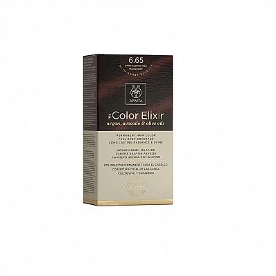 Apivita My Color Elixir Βαφή Μαλλιών 6.65 Έντονο Κόκκινο