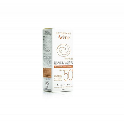 Avene Eau Thermale Mineral Cream SPF50+, 50ml