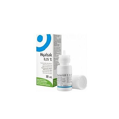 Thea Laboratoires Hyabak 0.15% Υαλουρονικό νάτριο 10ml