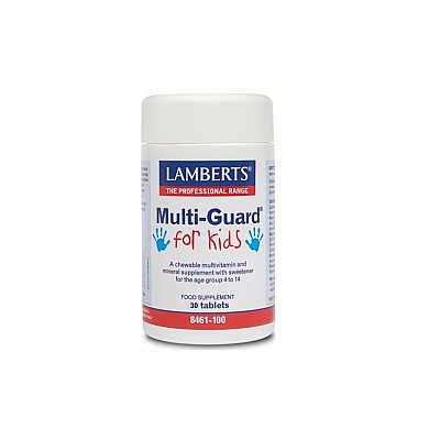 Lamberts Multi-Guard for Kids, 30 tabs