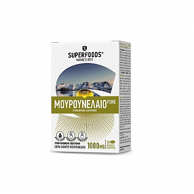Superfoods Cod Liver Oil Pure 1000mg , 30caps