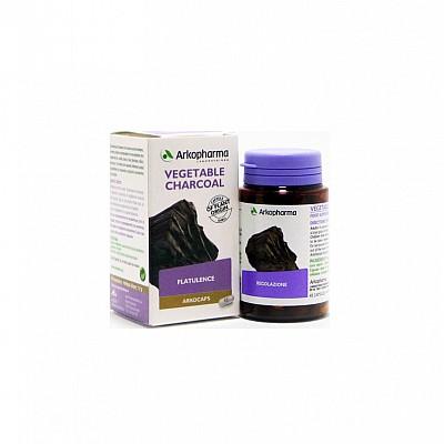 Arkopharma Arkocaps Carbo Active - Ενεργός Φυτικός Άνθρακας για Μετεωρισμό, Φούσκωμα και Κοιλιακό Πόνο, 45 κάψουλες
