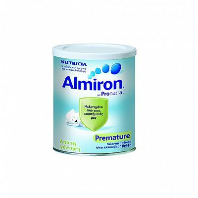Nutricia Almiron Premature, Eιδικό Γάλα για πρόωρα / λιποβαρή βρέφη, 400gr