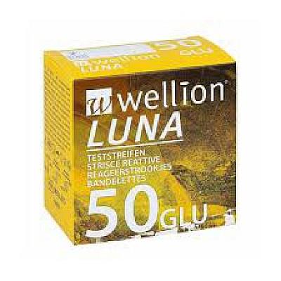 Wellion Luna Ταινίες Μέτρησης Σακχάρου 50 τεμ