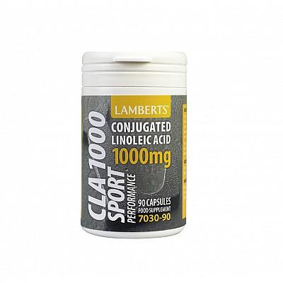Lamberts CLA 1000mg Χάστε Λίπος στη Περιοχή της Κοιλιάς 90 Capsules