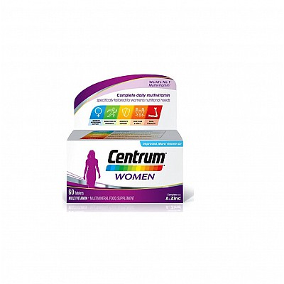 Centrum Women Complete form A to Zinc, 60 tabs